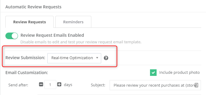 Email Settings | Yotpo - Support Center