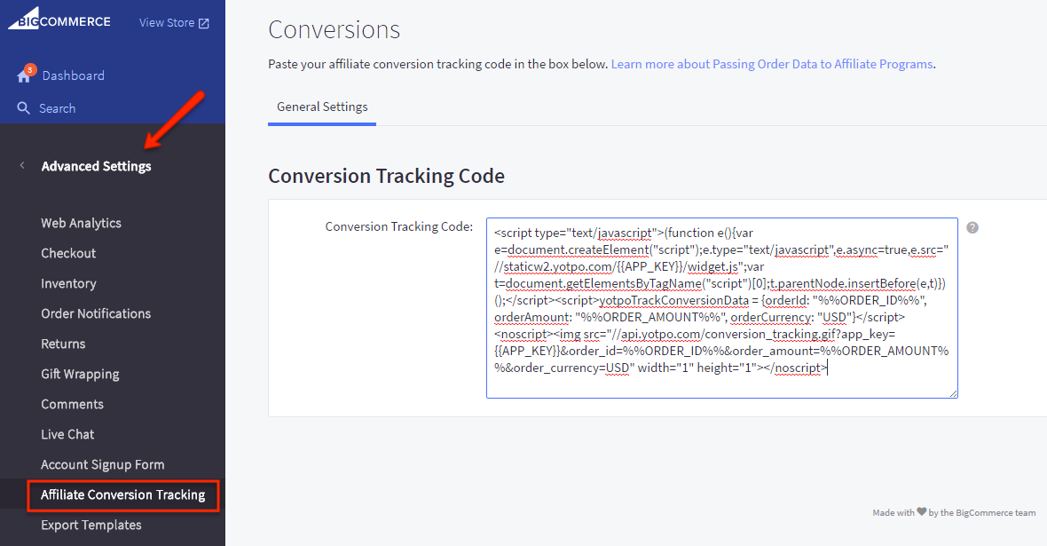 Conversion Tracking | Yotpo - Support Center