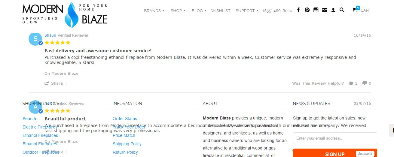 Footer Overlapping the SEO Page on Shopify | Yotpo - Support