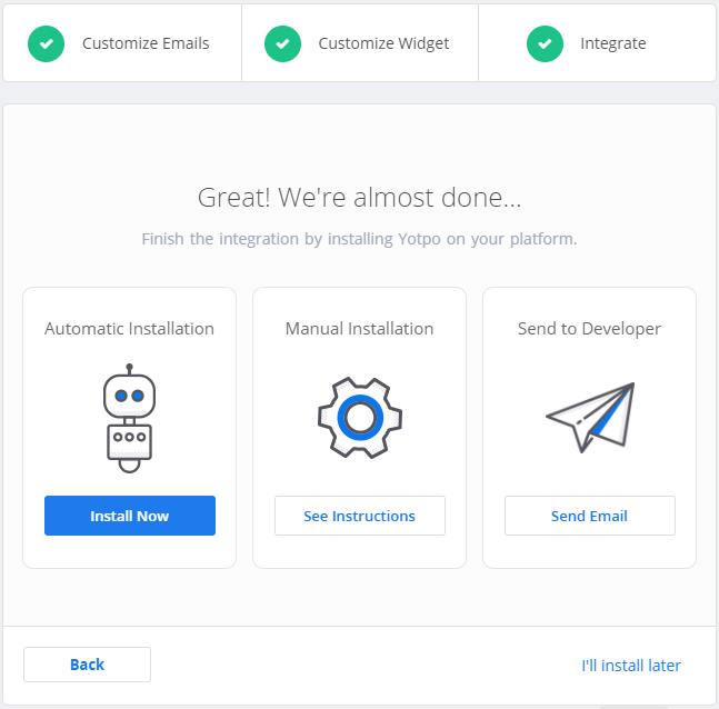 Shopify: Installing Yotpo | Yotpo - Support Center