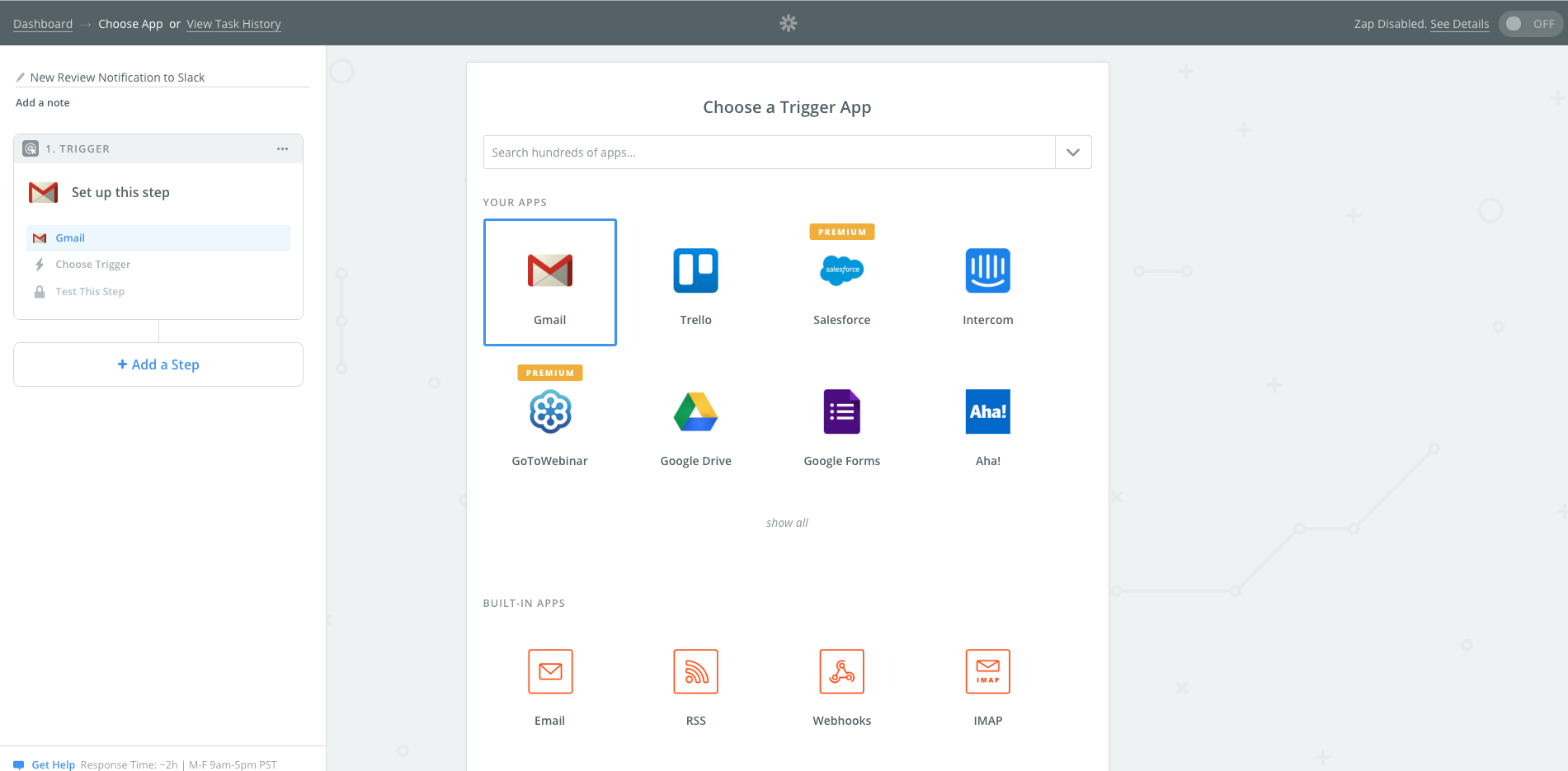 Send Review Notifications to Slack via Zapier | Yotpo