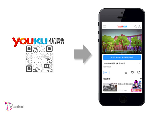 Youku QR code – Support