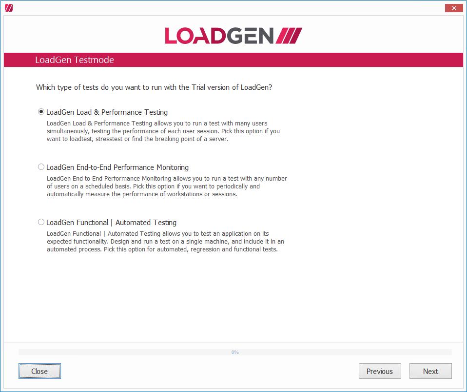 LoadGen - Knowledge Base: Tutorial: LoadGen Configurator