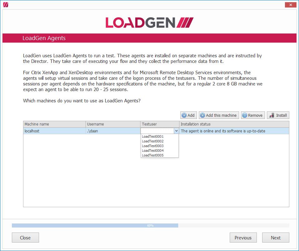 LoadGen - Knowledge Base: Tutorial: Set up LoadGen End-to-End