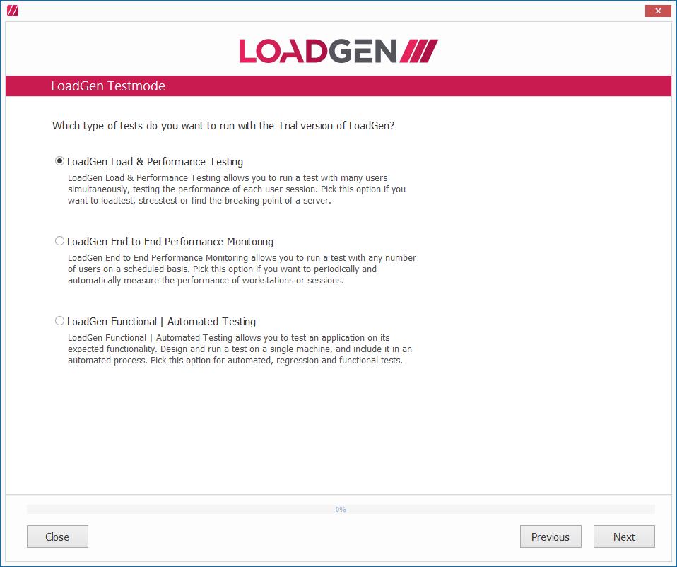 LoadGen - Knowledge Base: Tutorial: Set up LoadGen Load