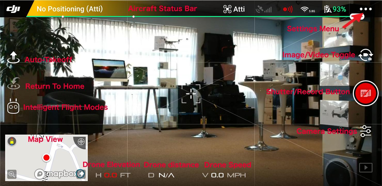 Using & Understanding the DJI Go 4 App - Cloud City Drones