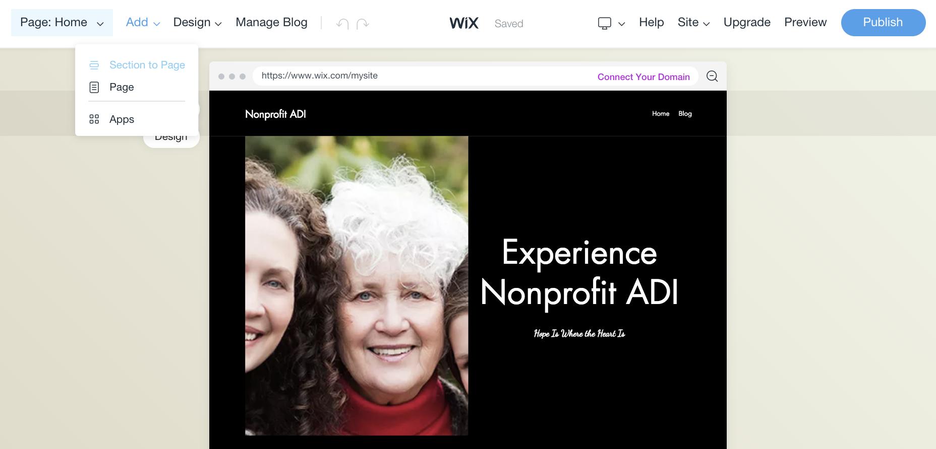 Wix ADI Updates