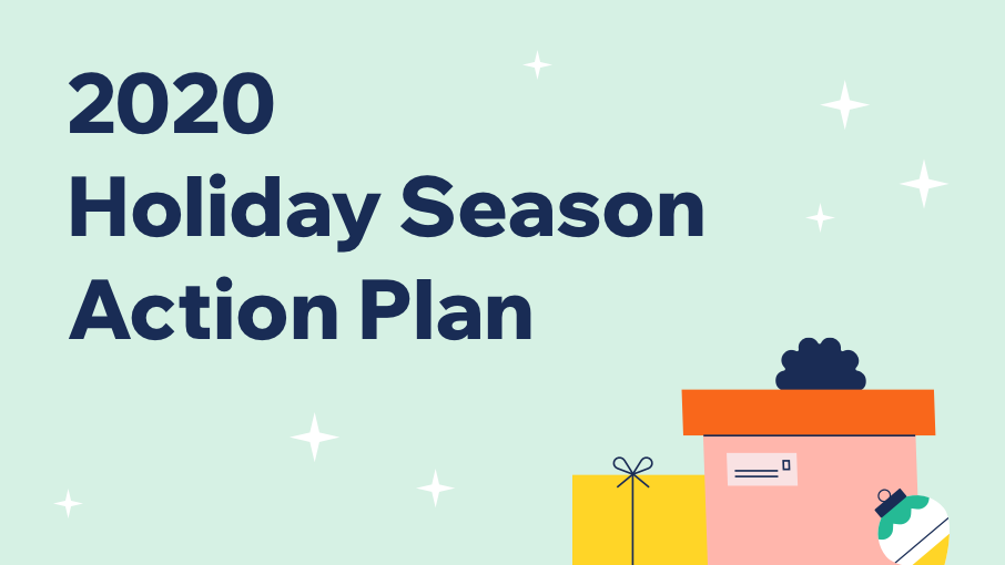 2020 holiday season action plan by wix