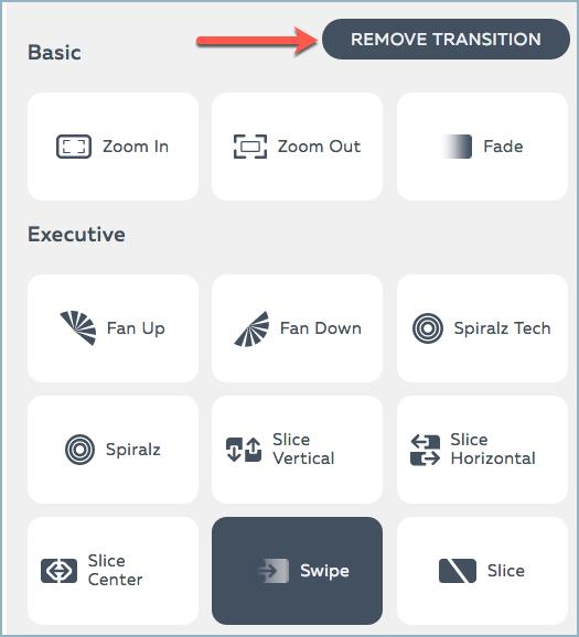 Adding Transitions Between Slides | Help Center