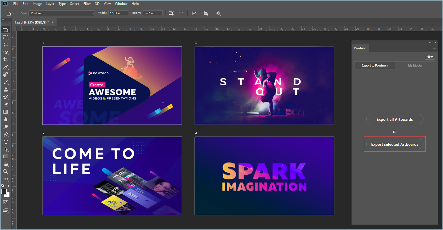 Using the Photoshop Plugin | Help Center
