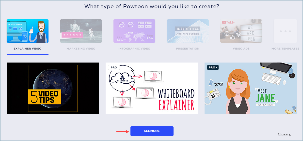 Creating a Powtoon in Edit Mode | Help Center