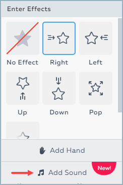 Applying Enter and Exit Effects to an Object | Help Center
