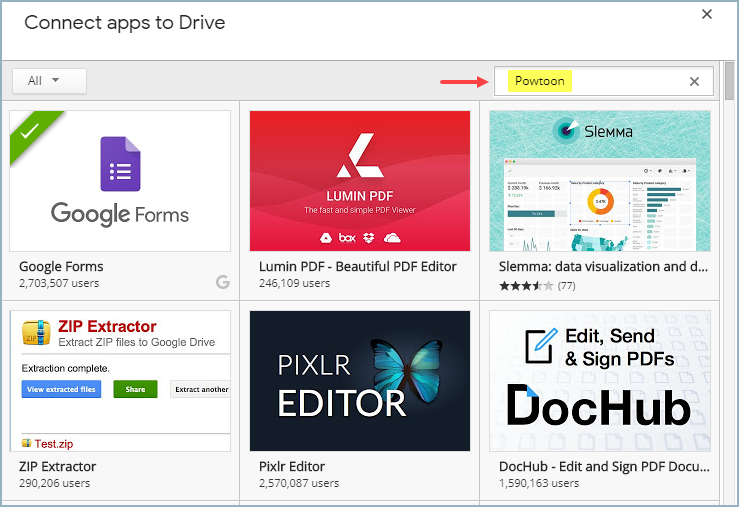 Using Google Drive to Manage Your Powtoons | Help Center
