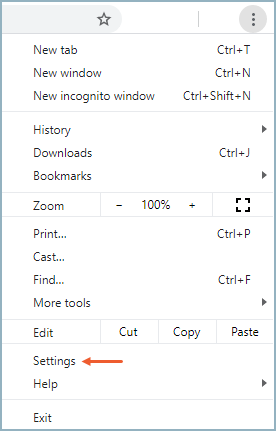 Enabling Cookies In The Chrome Browser Help Center